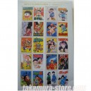 Japanese stamps 50th anniversary Weekly Comic Books B