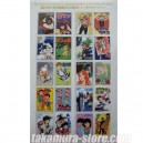 Japanese stamps 50th anniversary Weekly Comic Books A