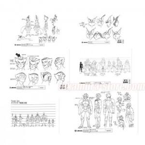 Thundercats New Animation Model Sheets