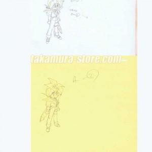 Spirit Hero Wataru anime cel