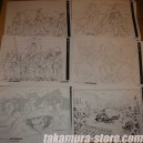 Afro Samurai Model Sheets