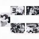 Venus War Lot de 5 photos en noir et blanc