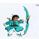 Spirit Hero Wataru anime cel _001