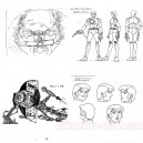 Captain Future model sheets