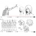 Model Sheets Attack on Titan