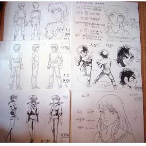 Setting_Ring ni Kakero_(Saint Seiya's Author)