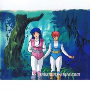 Dirty Pair Anime Cel R329