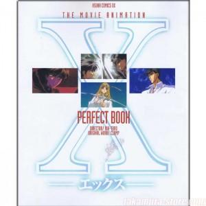 X Perfect book artbook