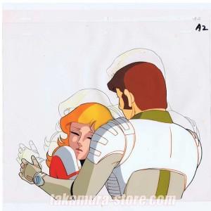 Captain Future anime cel