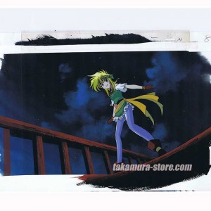Gokudo Kun Jester anime cel