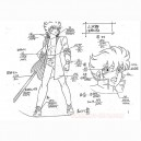 Fuma no Kojirou Model Sheets