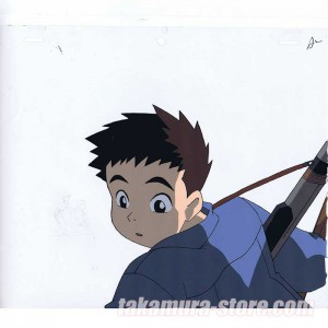 Now Then Here There anime cel R