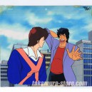 City Hunter anime cel R
