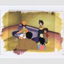Mister Ajikko anime cel