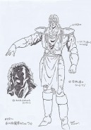 Hokuto No Ken Model Sheet