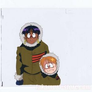 Nadia Secret of Blue Water anime cel