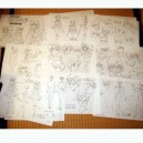 Sailor Moon model sheets