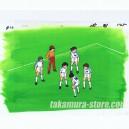 Captain Tsubasa anime cel