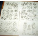 Slayers Next Model Sheets