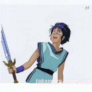 Arion anime cel