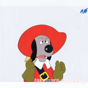 Woof-woof Three Musketeers anime cel