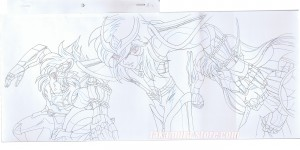 Saint Seiya Hades sketch PAN episode 1