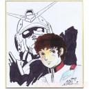 Gundam Shikishi by Kanayama Akihiro
