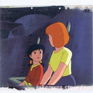 Conan Future Boy anime cel