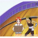 One piece anime cel