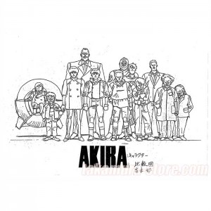 Akira Model Sheet