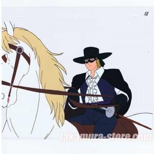 The Legend of Zorro anime cel