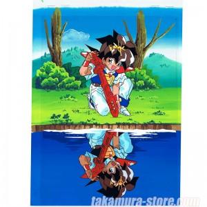 Spirit Hero Wataru anime cel R