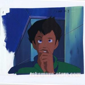 Future Police Urashiman Anime cel