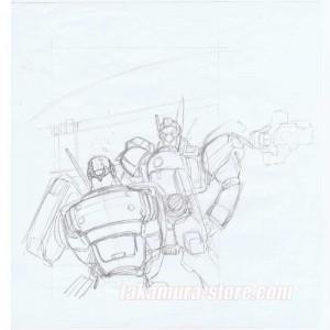 Patlabor Research Sketch