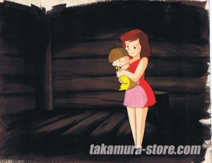 The Adventures of Kum Kum anime cel