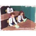 The Twins at St. Clare's anime cel