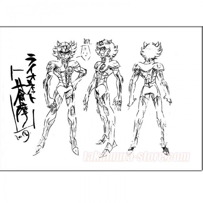 Saint Seiya Omega Model Sheets