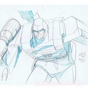 Transformers anime cel R899