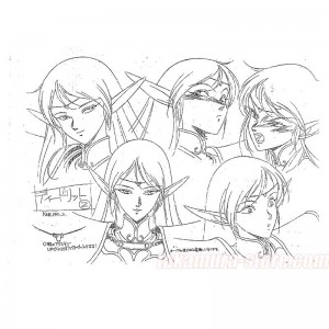 Lodoss War Model Sheets