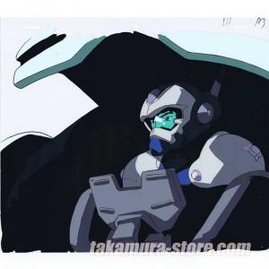 Blue Gender anime cel