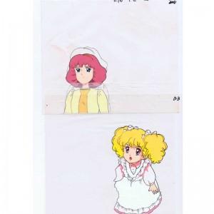 Hello Lady Lynn set of 10 anime cels