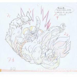 Dragon Ball set of original sketches