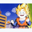 Dragon ball Z anime cel - Movie 12 - Fusion Janemba