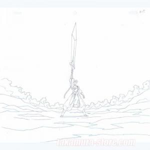 Inuyasha original sketch