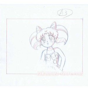 Sailor Moon set of sketches