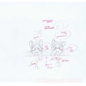 Sailor Moon set of 4 sketches