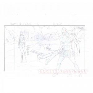 One piece original sketch - Episode of Skypiea