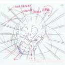 Dragon Ball Z crayonné original