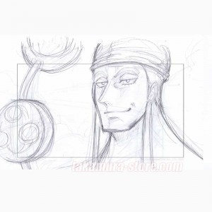 One piece original sketch - Episode of Skypiea