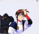 Plastic Little anime cel
